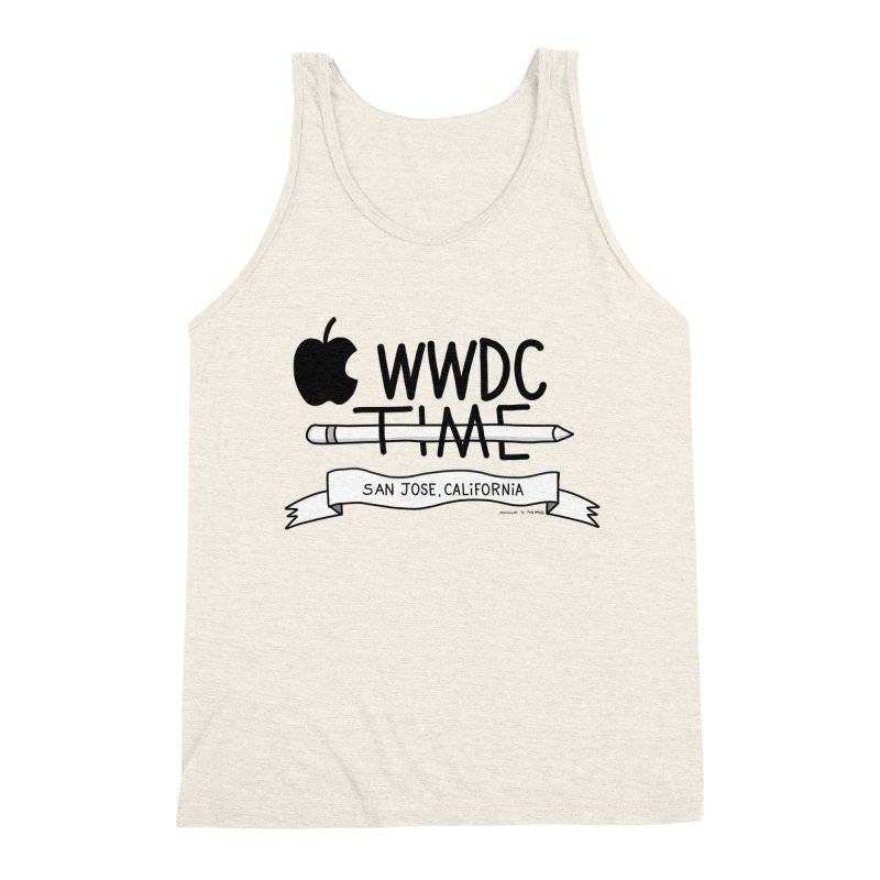 WWDC Time Men's Triblend Tank by