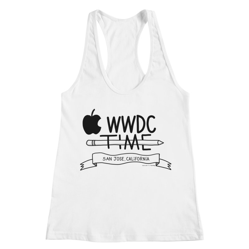 WWDC Time Women's Racerback Tank by