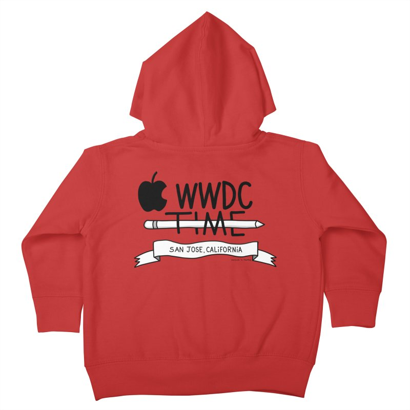WWDC Time Kids Toddler Zip-Up Hoody by