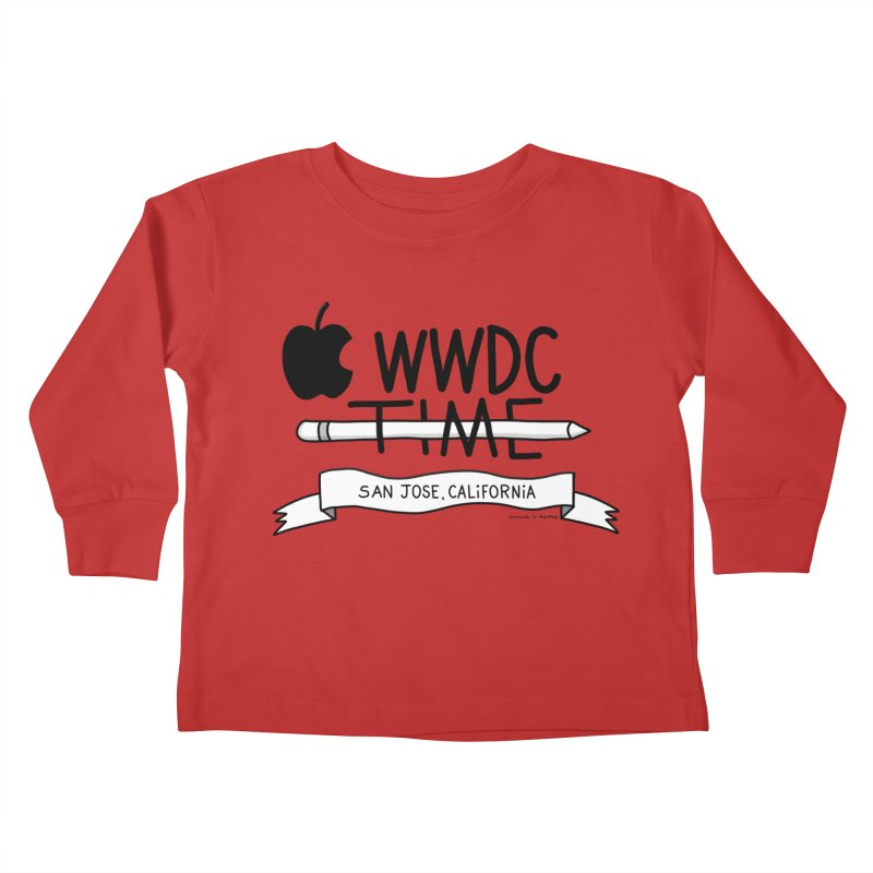 WWDC Time Kids Toddler Longsleeve T-Shirt by