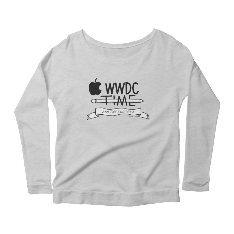 WWDC Time Women's Scoop Neck Longsleeve T-Shirt by