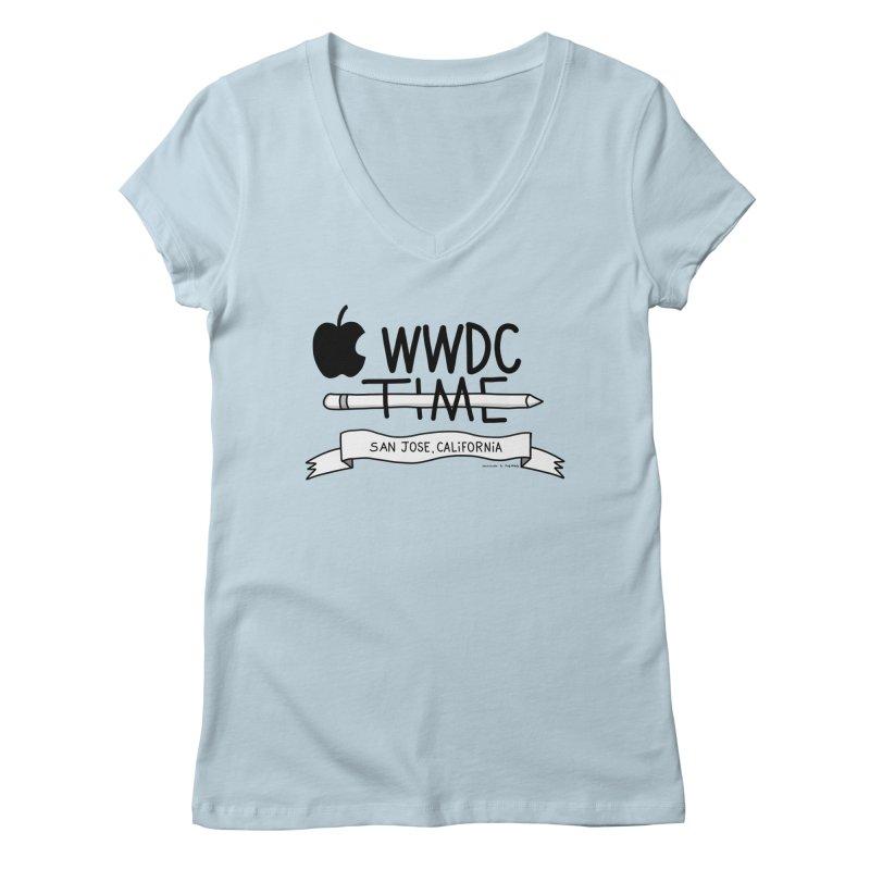 WWDC Time Women's V-Neck by