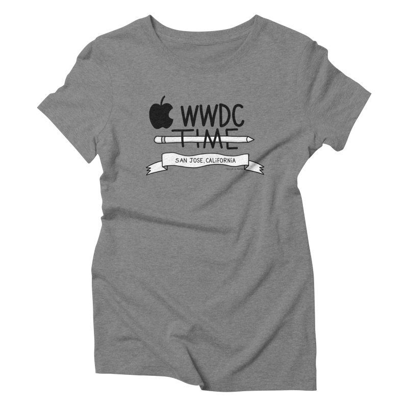 WWDC Time Women's Triblend T-Shirt by