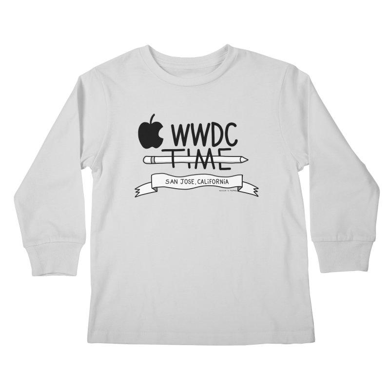 WWDC Time Kids Longsleeve T-Shirt by