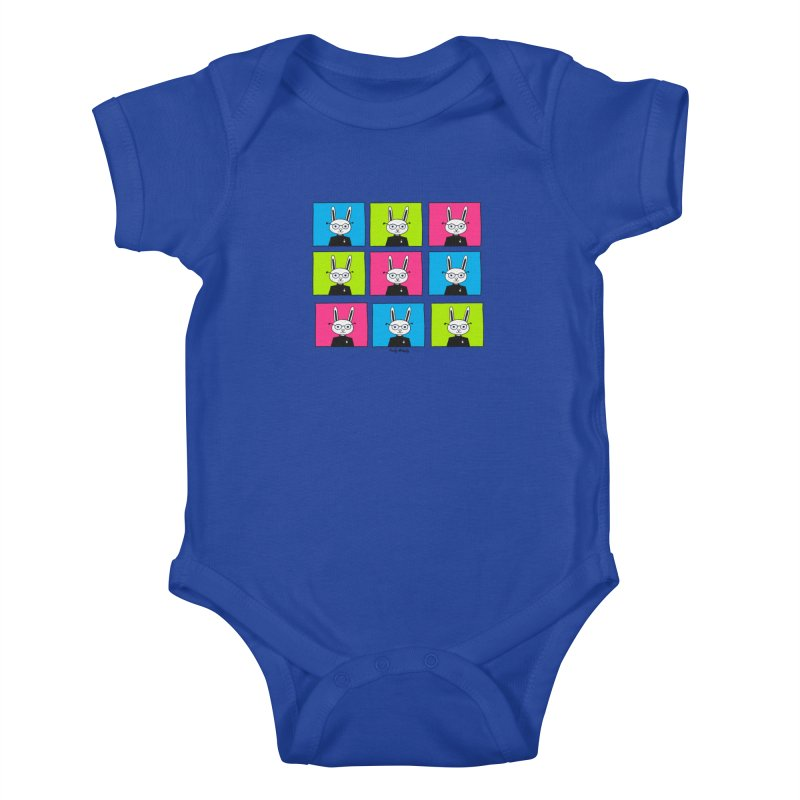 Steve J Hops Kids Baby Bodysuit by