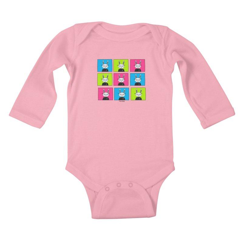 Steve J Hops Kids Baby Longsleeve Bodysuit by