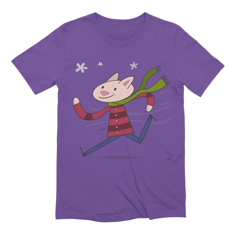 Winter Sphynx Men's Extra Soft T-Shirt by