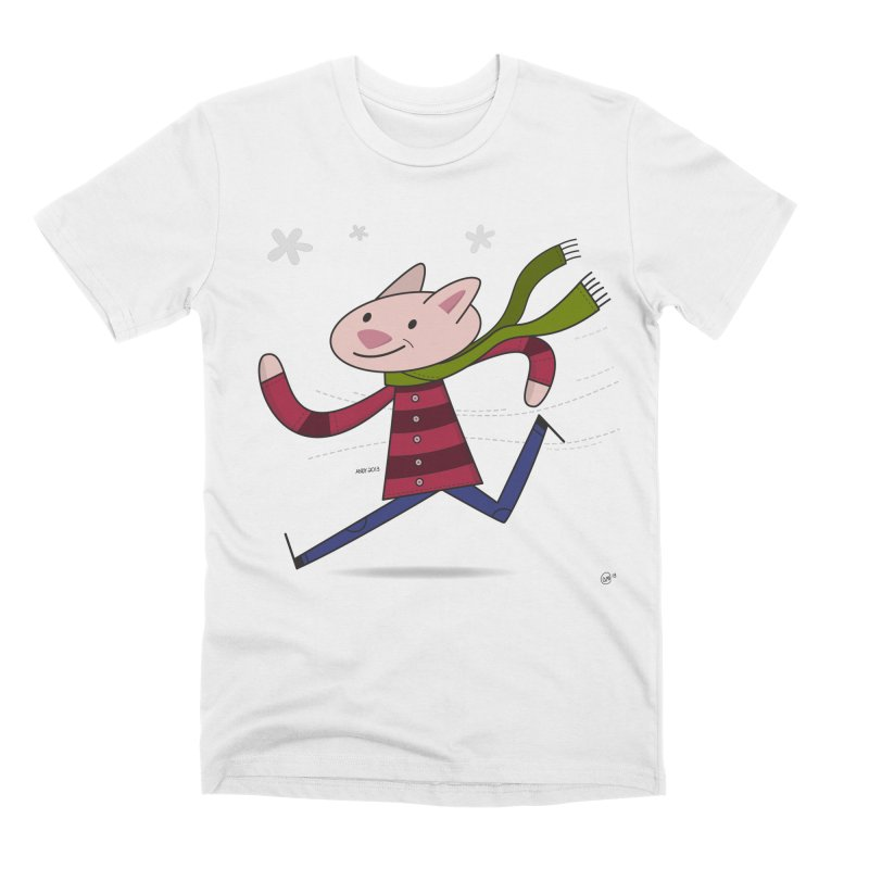 Winter Sphynx Men's Premium T-Shirt by