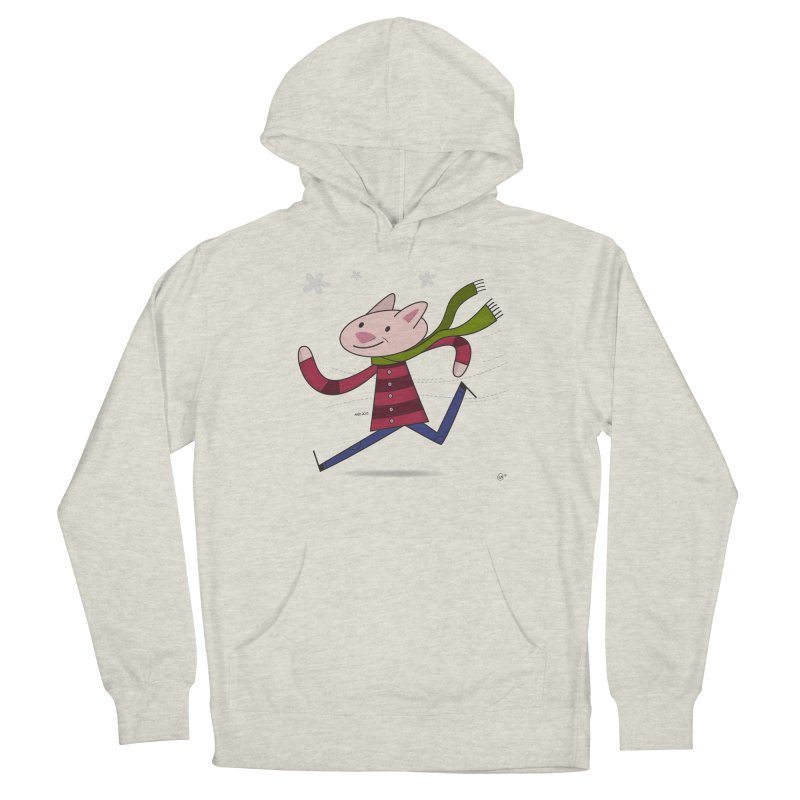 Winter Sphynx Men's French Terry Pullover Hoody by