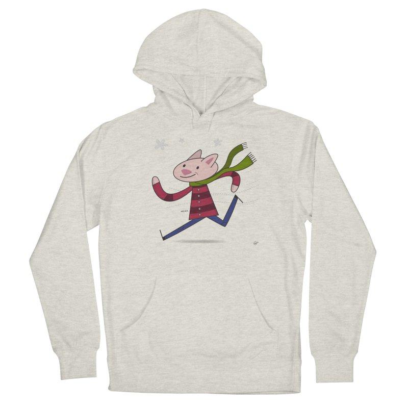Winter Sphynx Men's Pullover Hoody by