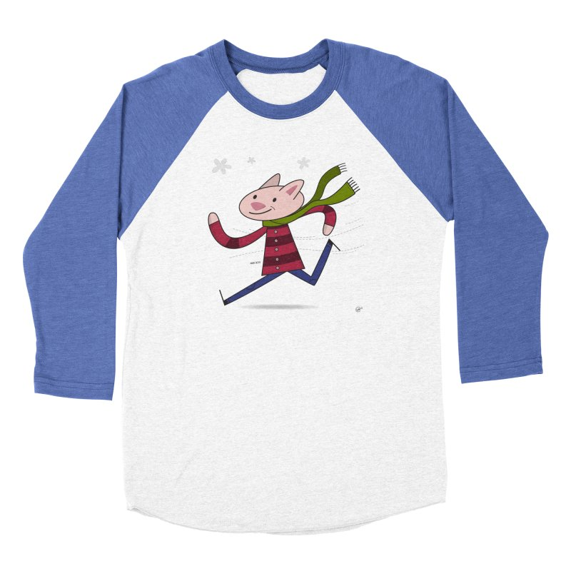 Winter Sphynx Women's Baseball Triblend Longsleeve T-Shirt by