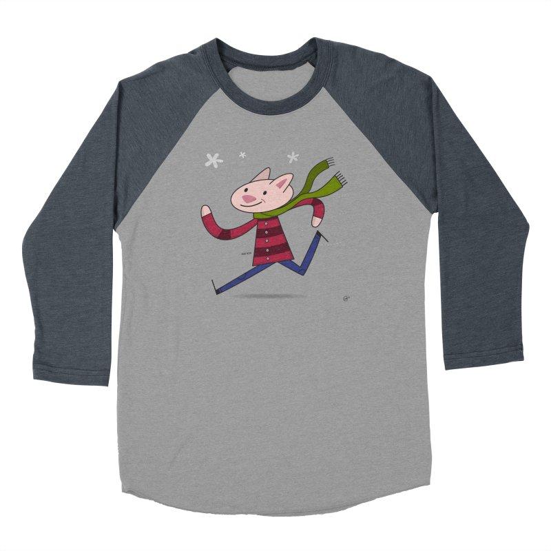 Winter Sphynx Men's Baseball Triblend Longsleeve T-Shirt by