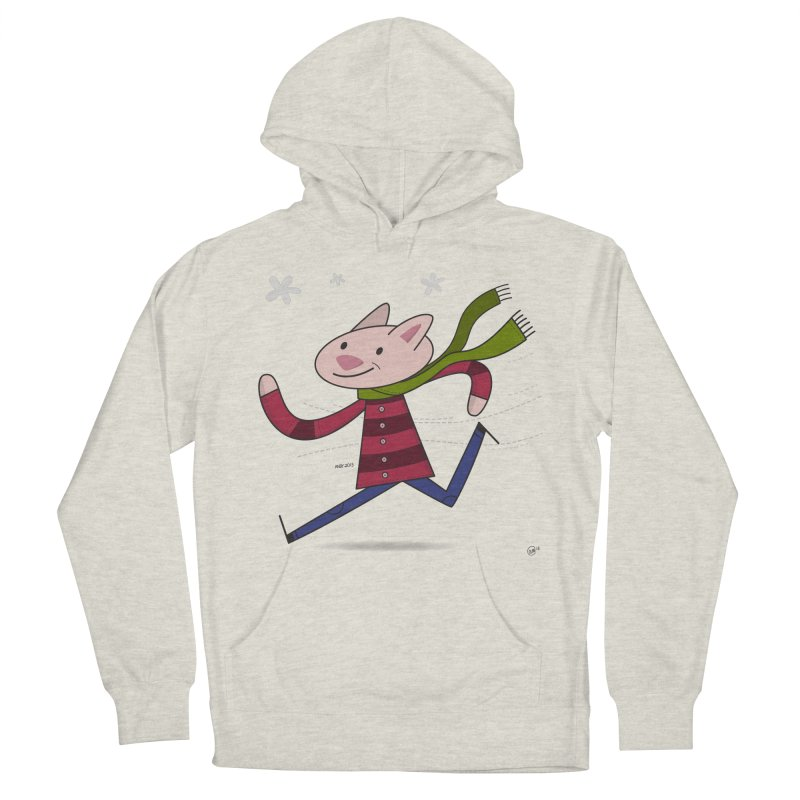 Winter Sphynx Women's French Terry Pullover Hoody by