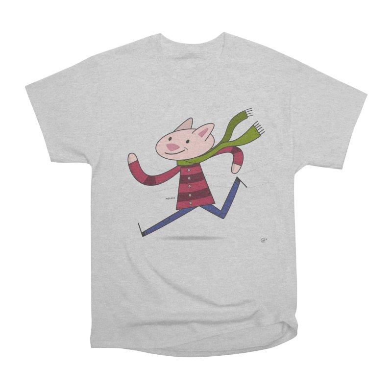 Winter Sphynx Men's Heavyweight T-Shirt by