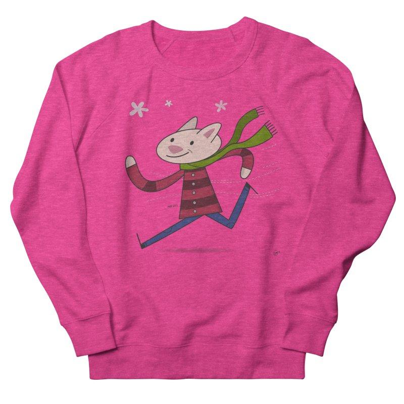 Winter Sphynx Women's French Terry Sweatshirt by