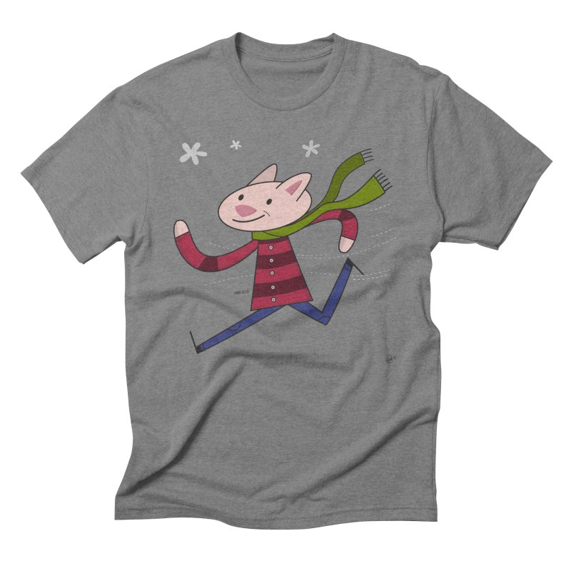 Winter Sphynx Men's T-Shirt by