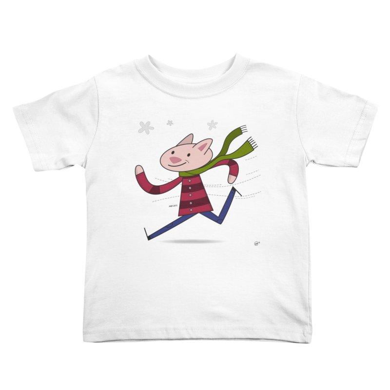 Winter Sphynx Kids Toddler T-Shirt by