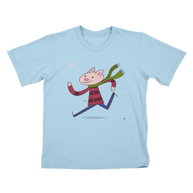 Winter Sphynx Kids T-Shirt by