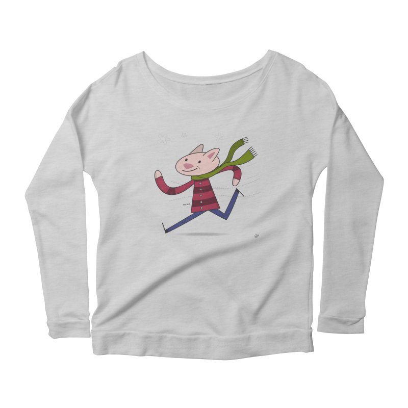 Winter Sphynx Women's Scoop Neck Longsleeve T-Shirt by