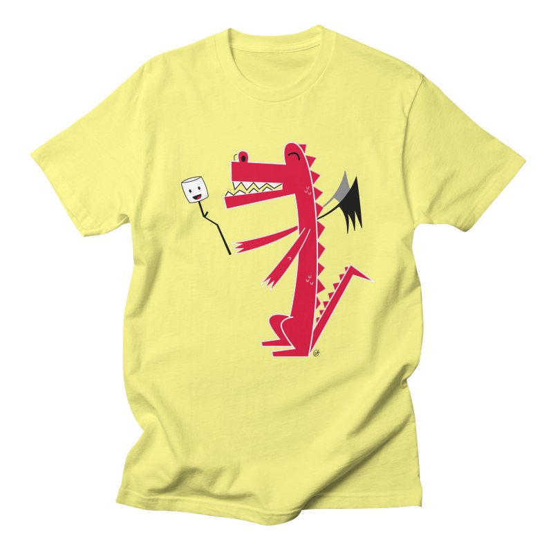 Happy Dragon with a marshmallow Women's T-Shirt by