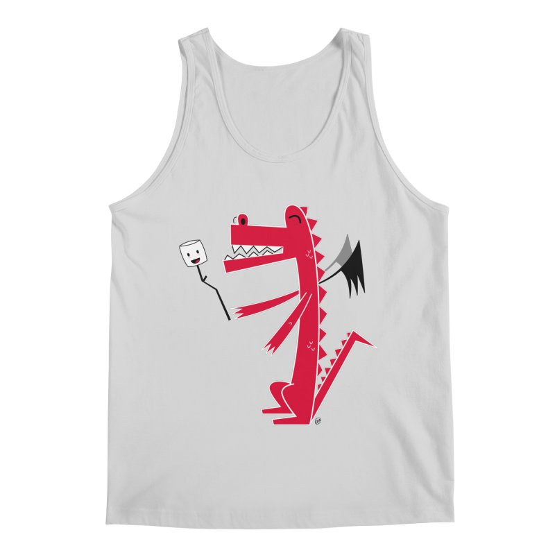 Happy Dragon with a marshmallow Men's Regular Tank by