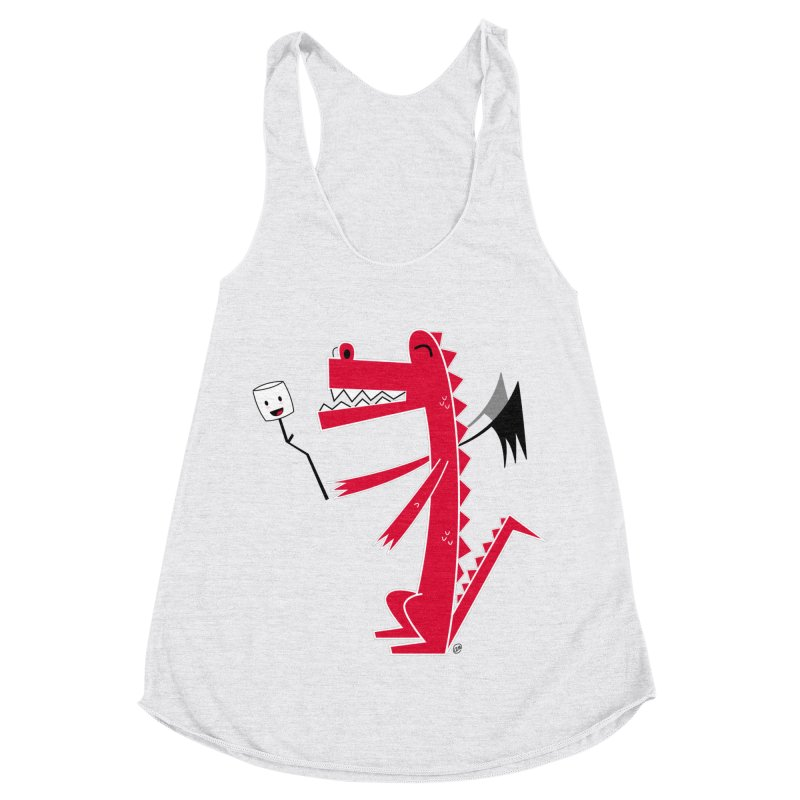 Happy Dragon with a marshmallow Women's Tank by