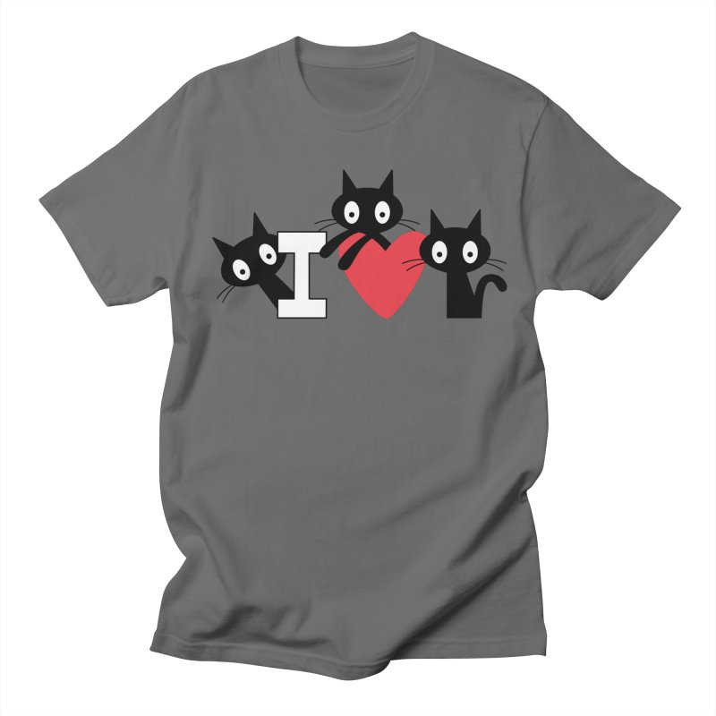 Love Cats Men's T-Shirt by
