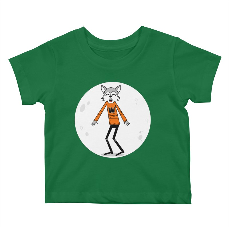 Werewolf? There wolf. Kids Baby T-Shirt by