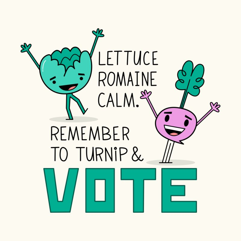 Lettuce, Turnip, and Vote Women's Sweatshirt by