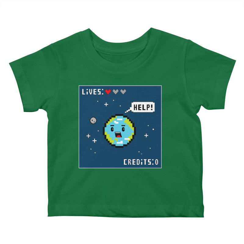 Save the Planet Kids Baby T-Shirt by