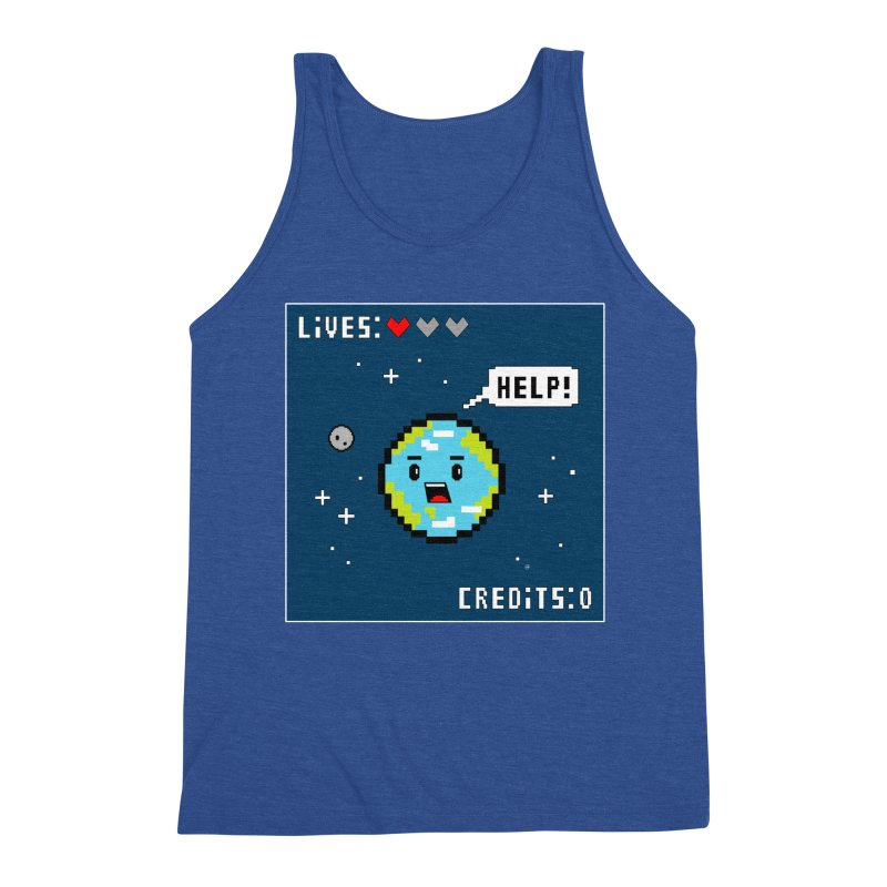 Save the Planet Men's Tank by