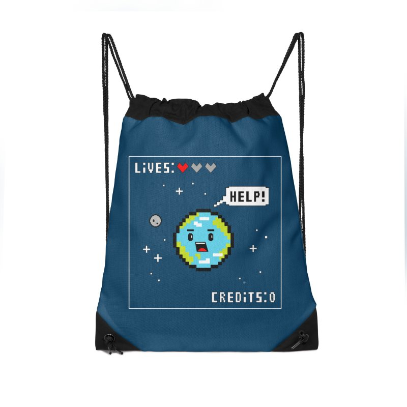 Save the Planet Accessories Bag by