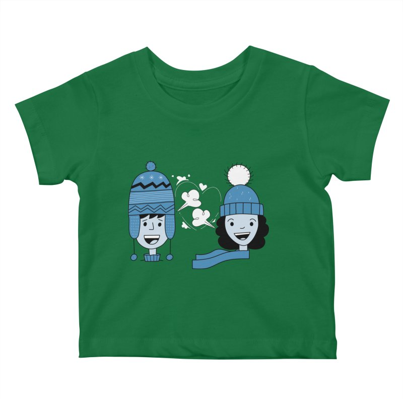 Love Winter Kids Baby T-Shirt by