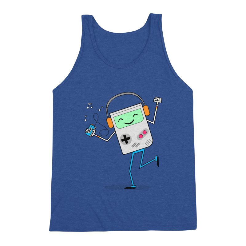 Retro Games and Cassette Tapes Men's Tank by