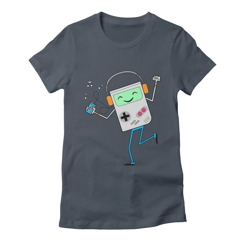 Retro Games and Cassette Tapes Women's T-Shirt by