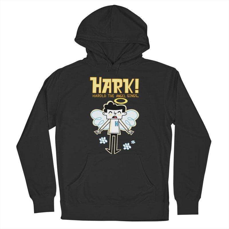 Hark! Harold the Angel Sings. Men's Pullover Hoody by