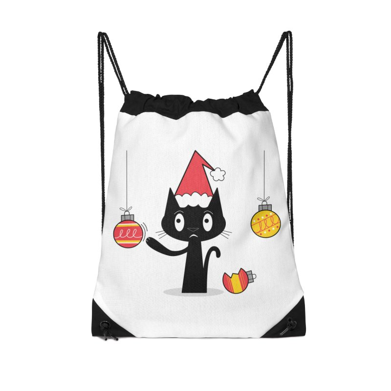 Naughty Holiday Cat Accessories Bag by