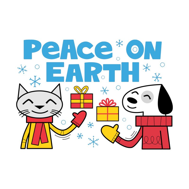 Peace on Earth Accessories Bag by