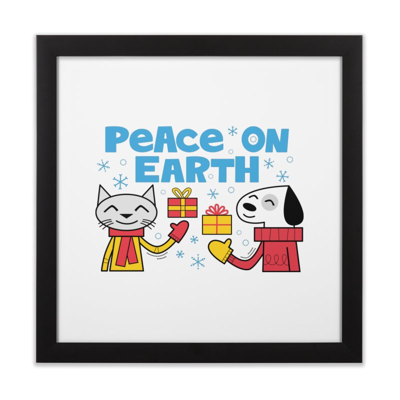 Peace on Earth Home Framed Fine Art Print by