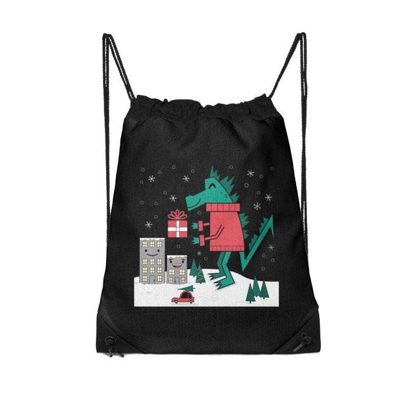 Kaiju Christmas Accessories Bag by