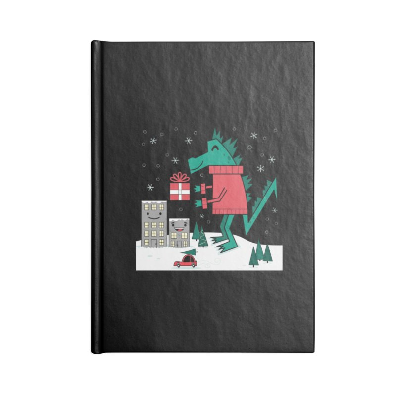 Kaiju Christmas Accessories Notebook by