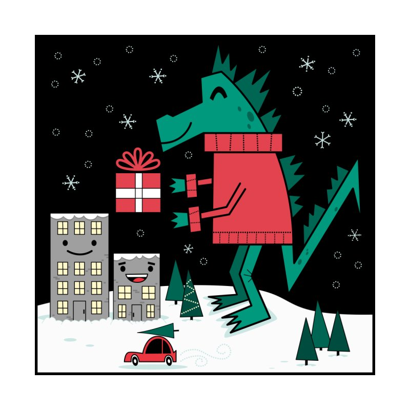 Kaiju Christmas Men's T-Shirt by