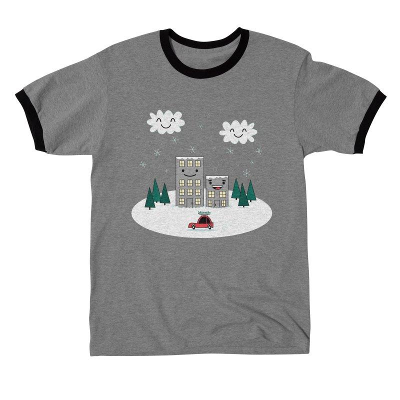 Kawaii Winter Town Women's T-Shirt by