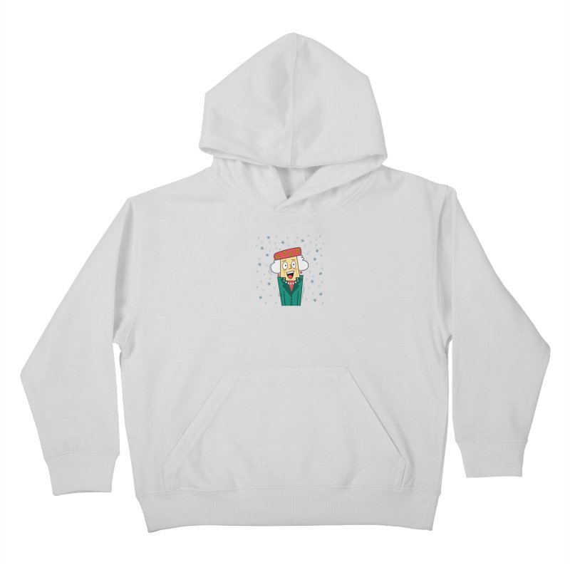 Zany Christmas Aunt Kids Pullover Hoody by