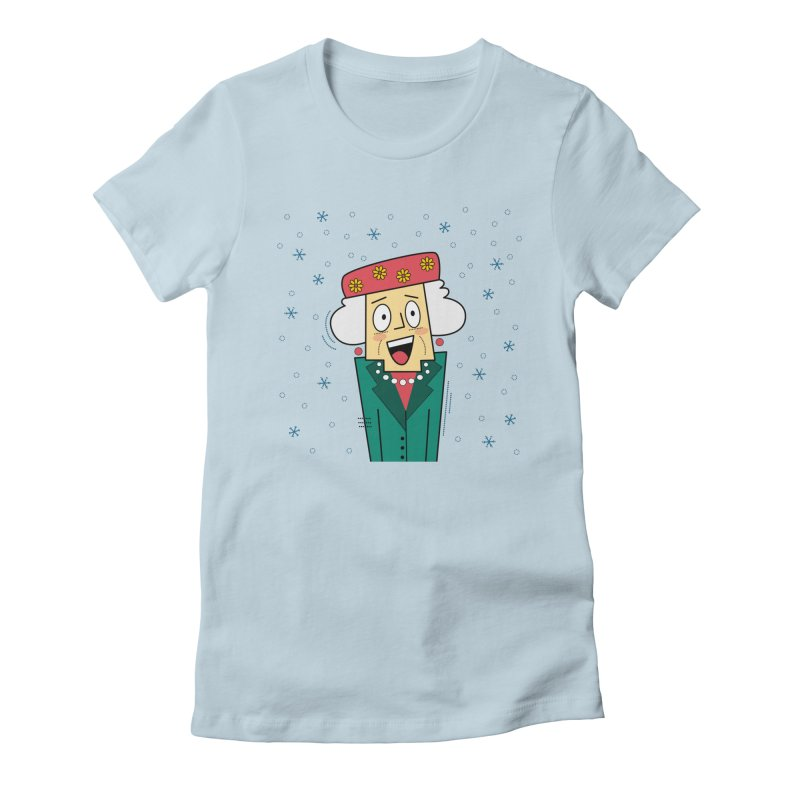 Zany Christmas Aunt Women's T-Shirt by