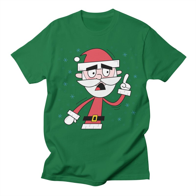 Grumpy Santa Men's T-Shirt by