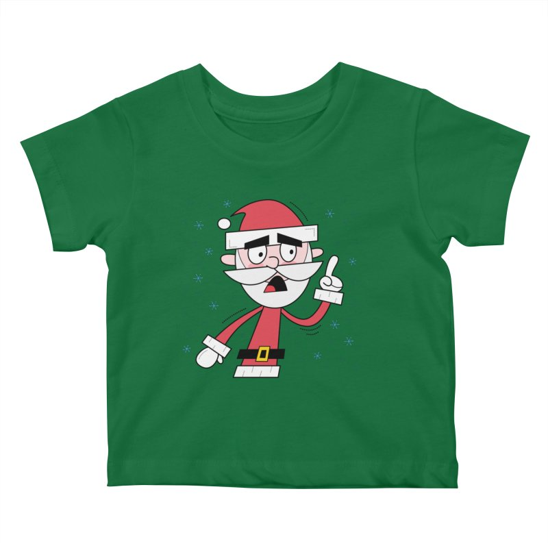 Grumpy Santa Kids Baby T-Shirt by