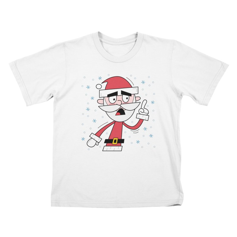 Grumpy Santa Kids T-Shirt by