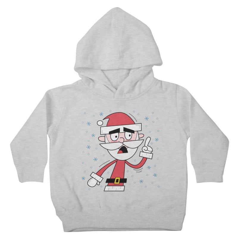 Grumpy Santa Kids Toddler Pullover Hoody by