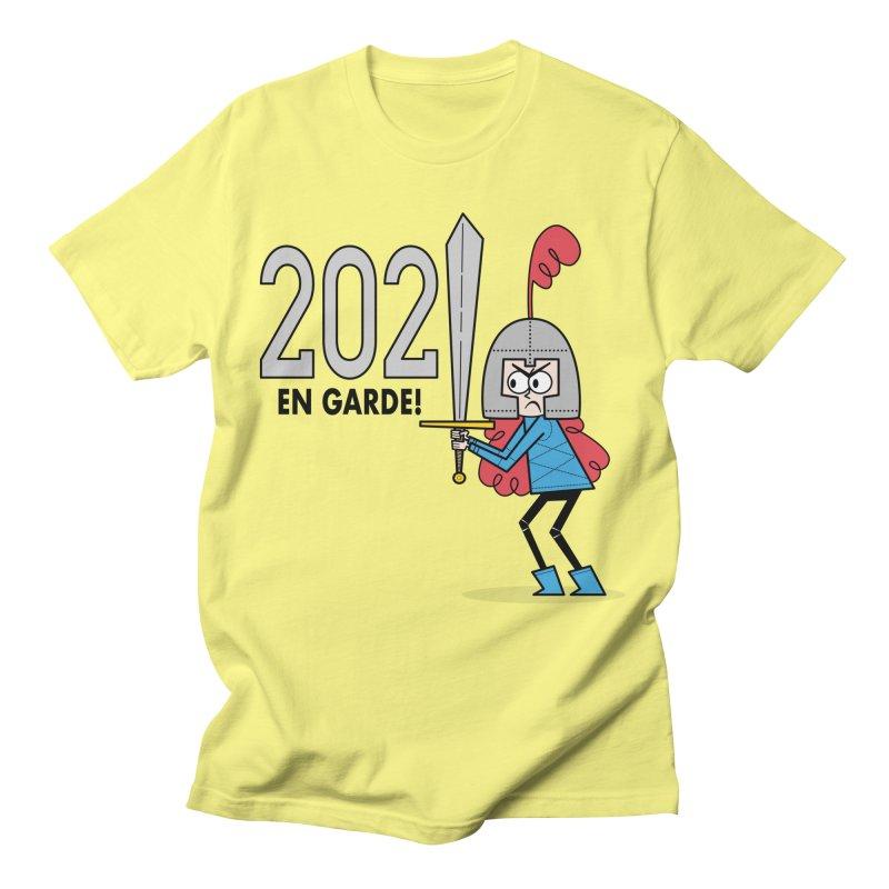 2021 En Garde! Red Knight Men's T-Shirt by